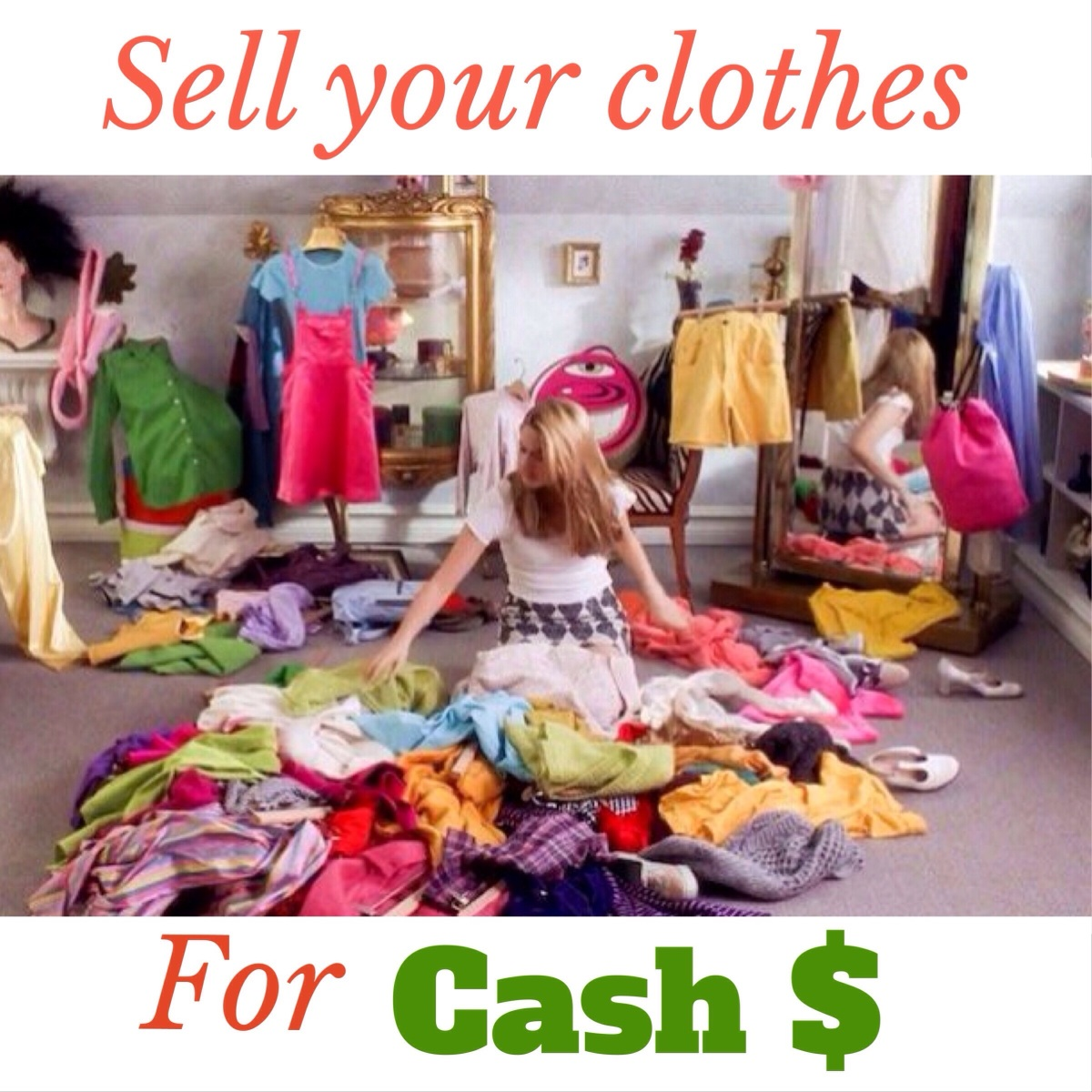 Clothes selling online