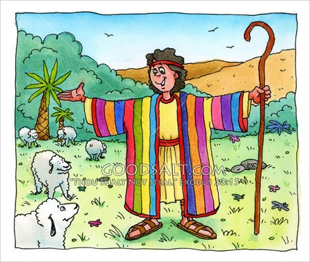 Joseph And The Coat Of Many Colors Kids Bible Lesson A Modest Joseph Coat Of Many Colors Activity