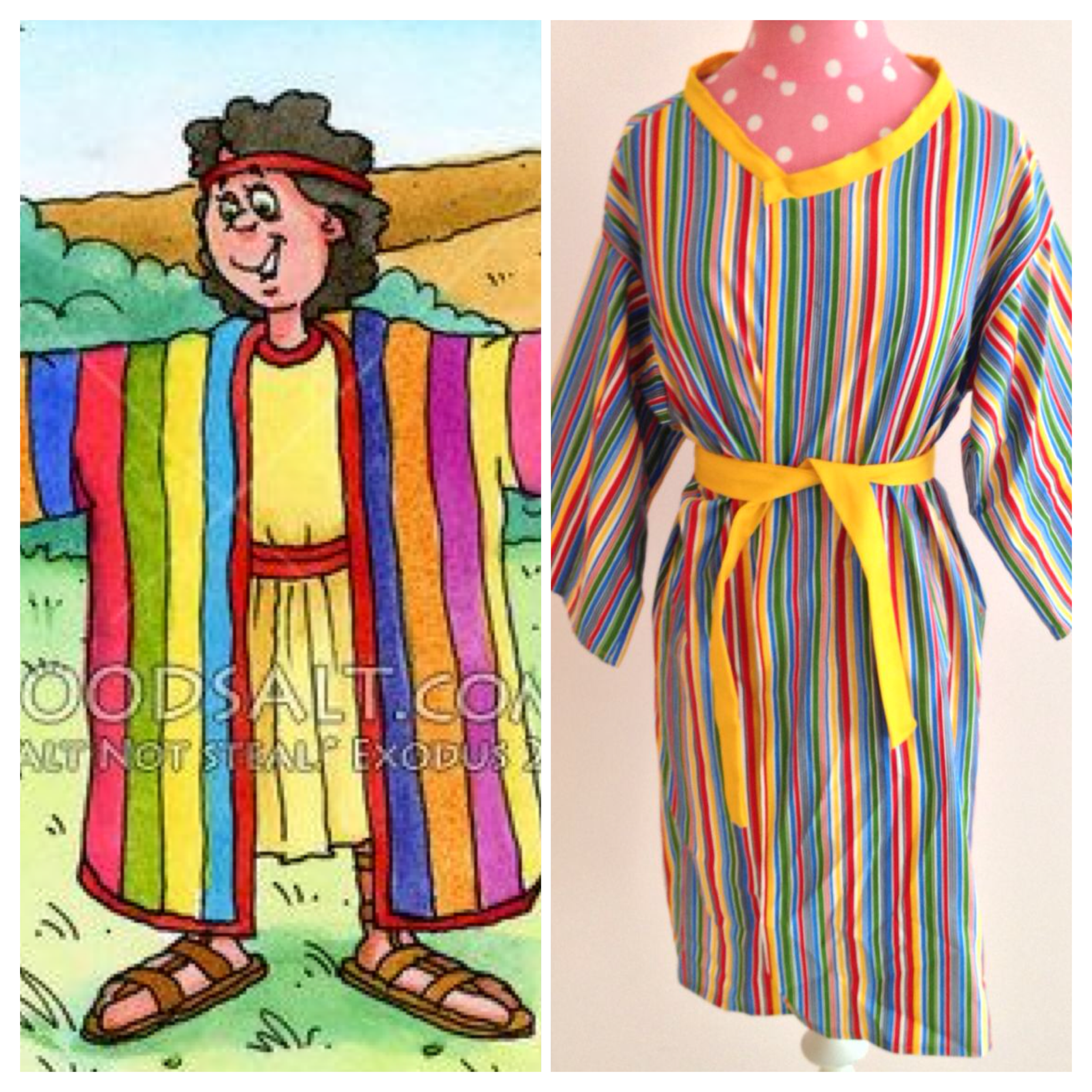 Joseph and the Coat of Many Colors/Kids Bible Lesson | A ...