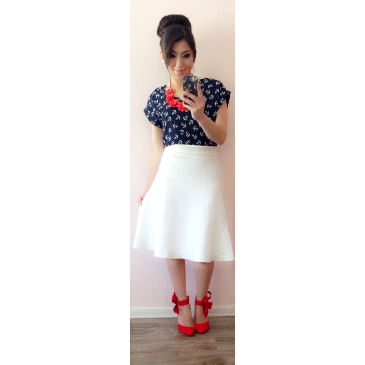 Modest Summer Nautical Outfit! Featuring Debbieu2019s Closet +GIVEAWAY!! | A Modest Fashion u0026 Faith Blog