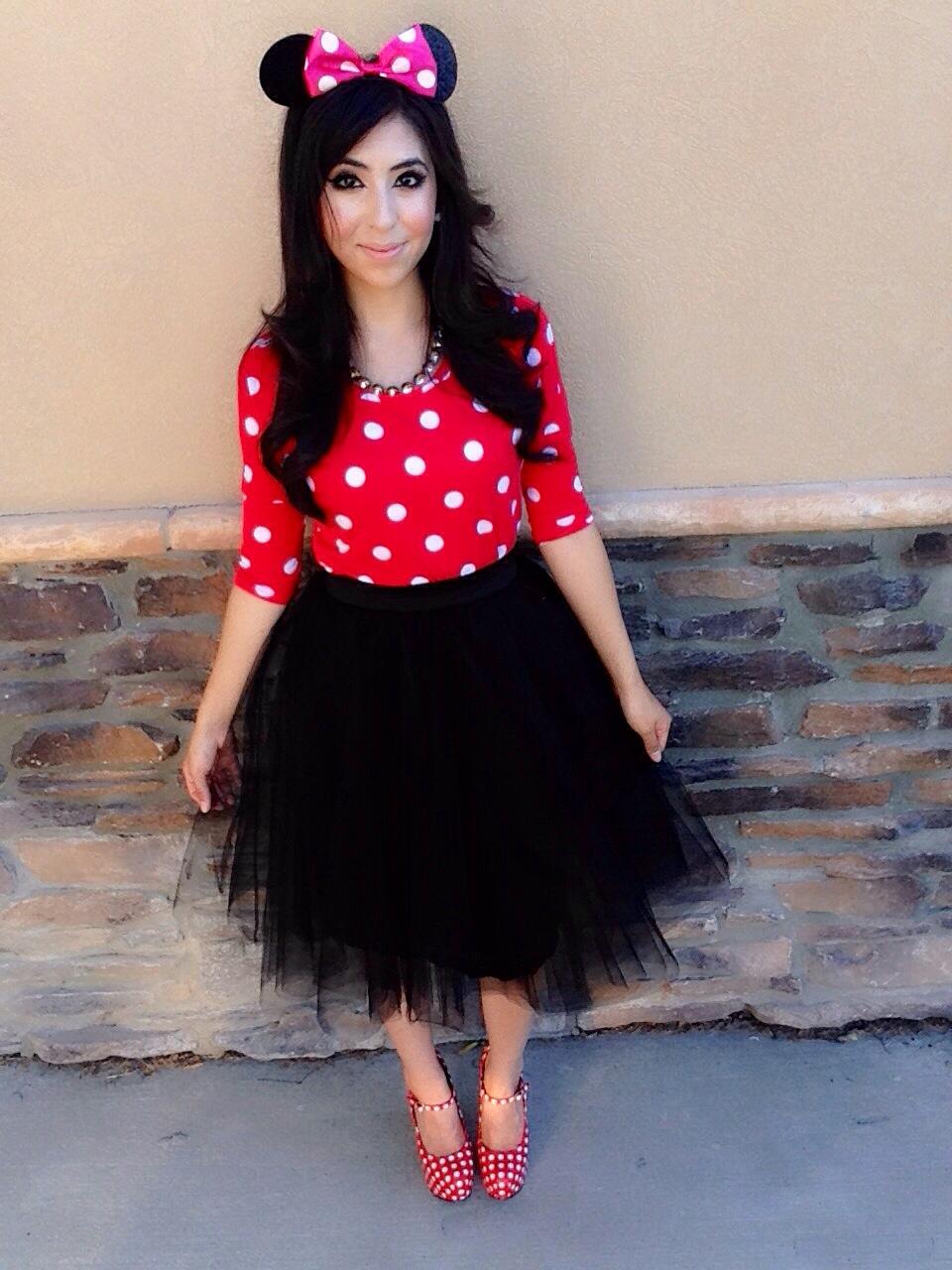 Polka Dot Dress Halloween Costume