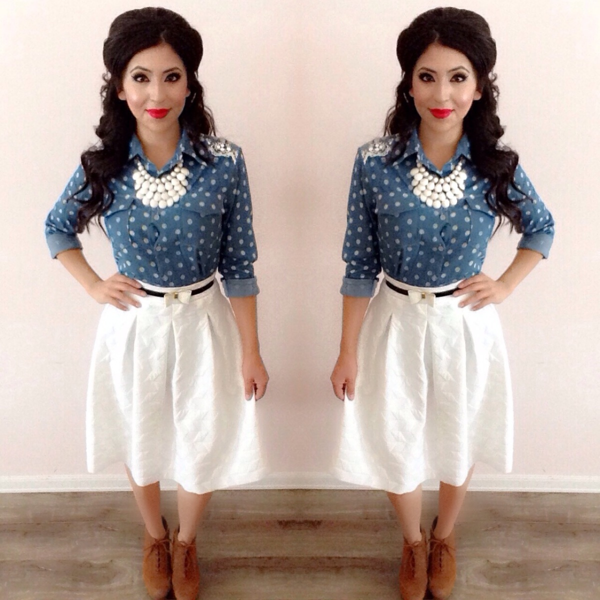 How To: Styling a White Skirt! Modest Summer Outfits ...